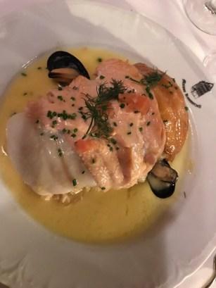 Fish choucroute