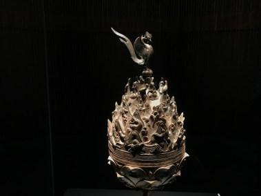 박물관의 주인공은 금동대향로. 'Baekje Incense Burner' was a must-see in Baekje National Museum.