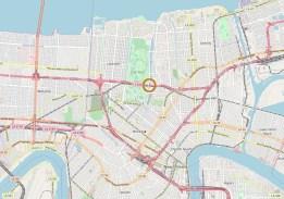Vue large sur La Nouvelle-Orléans