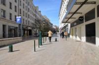 La zone de rencontre au bas de la rue Bannier