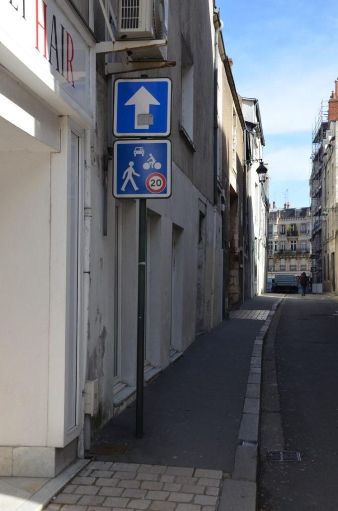 rue des Fauchets - panneau