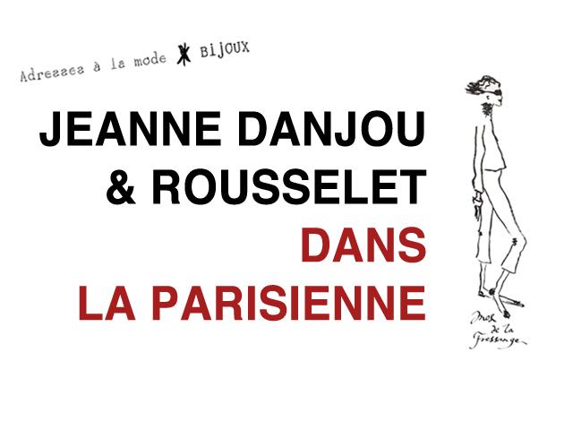 """Jeanne Danjou Bijoux Paris fait partie des adresses mode d'Ines de la Fressange dans son livre """"la Parisienne""""."""