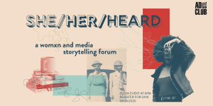 Virtual Womxn's Storytelling Event by Ad Club St. Louis on August 26