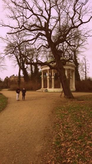 Park Sanssouci in Potsdam.