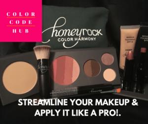 Honey Rock Color Code Makeup