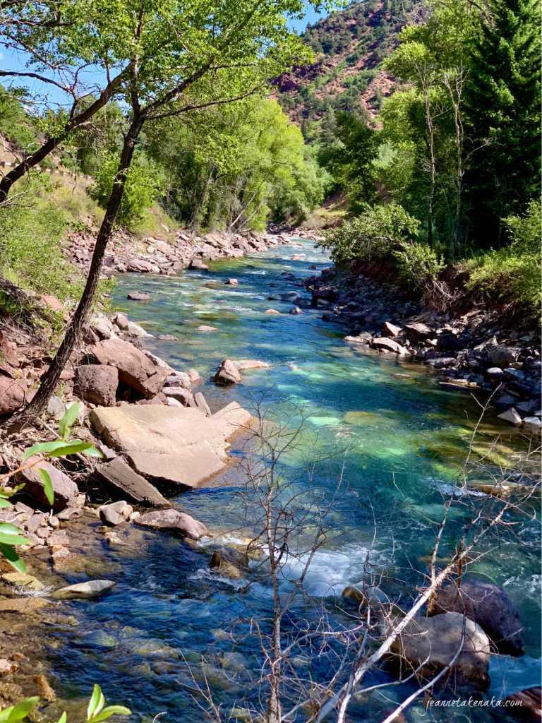 A crystalline river