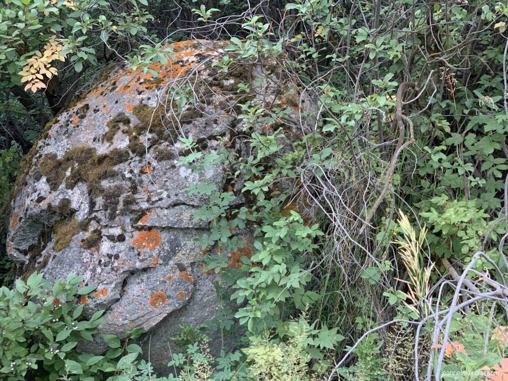 A boulder reminding us of how big problems can become