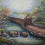 Oregon Creek Bridge by Jeannie House