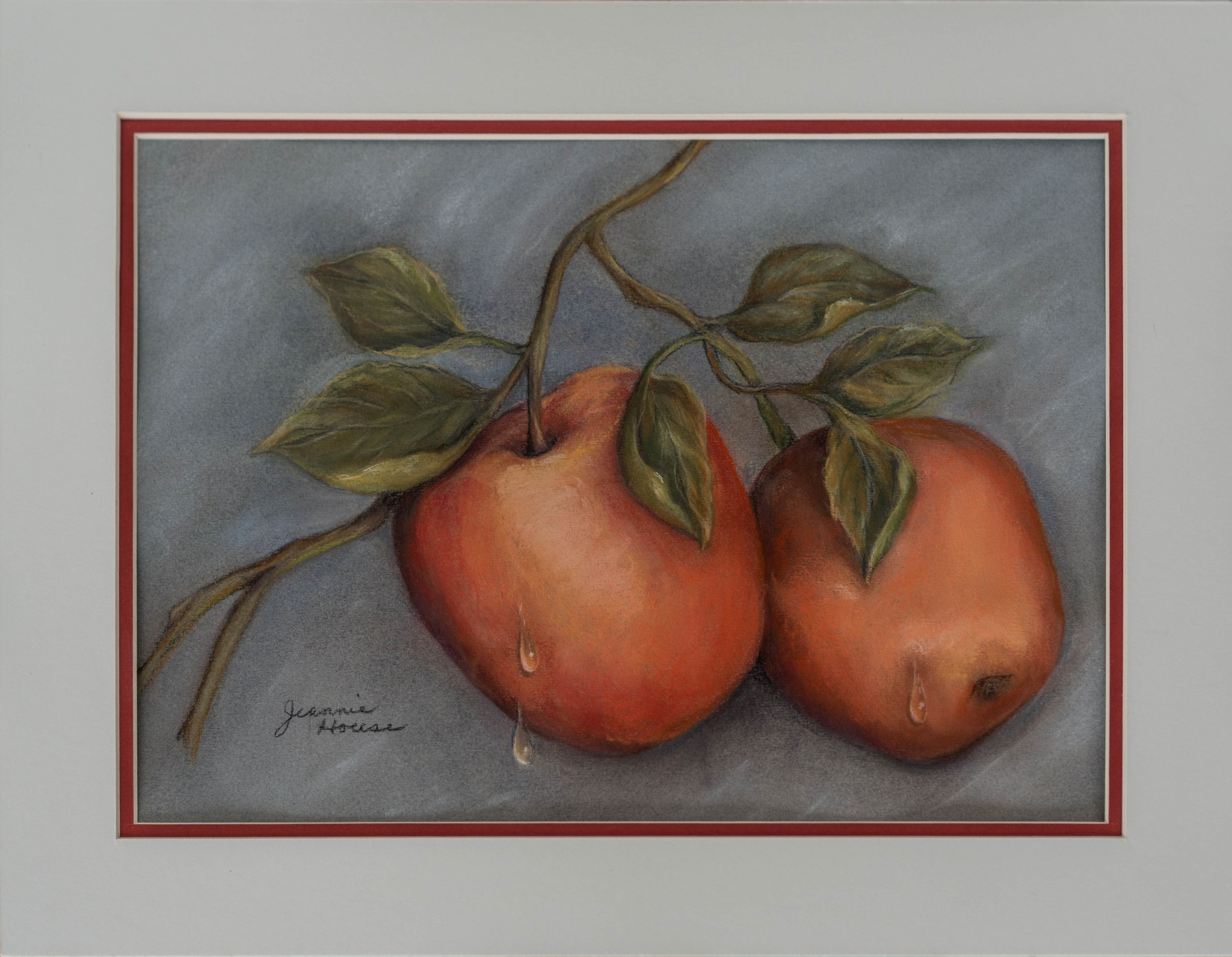 Ripe Apples by Jeannie House