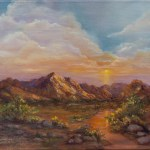 Gila Hills by Jeannie House