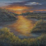 First Light, East Wetlands, by Jeannie House