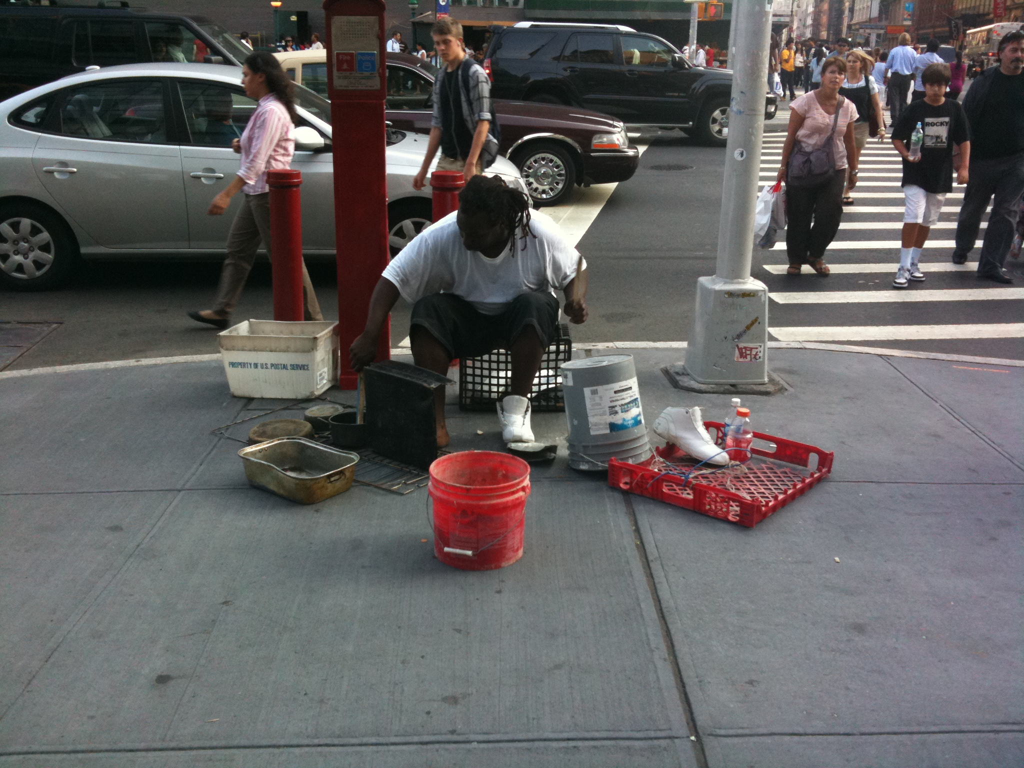 Jammin' on the streets of NYC