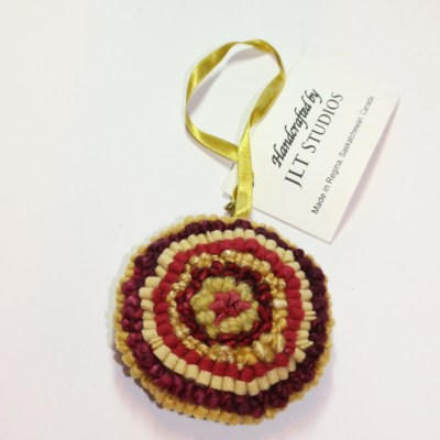 Christmas Circle Ornament #15