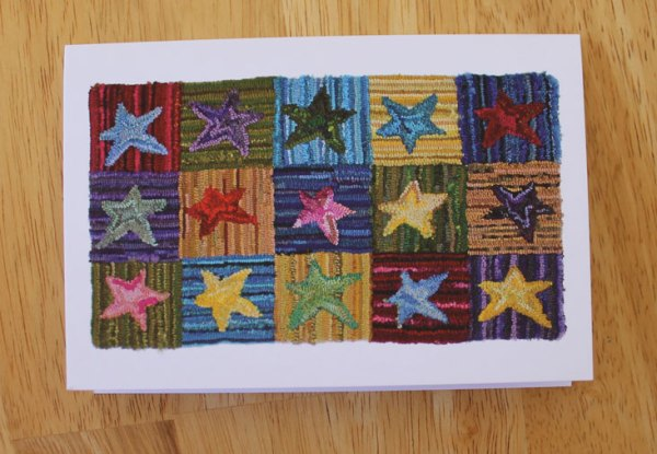 Star Rug Greeting Card