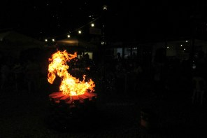 Bonfire night at StrEat