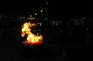 Bonfire night at StrEat