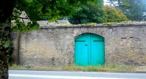cork ireland, stone wall, youghal