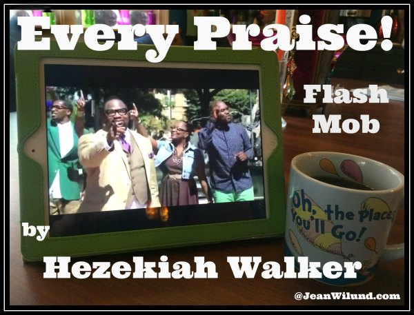 "Click to view music video of the Flash Mob: ""Every Praise"" with Hezekiah Walker."