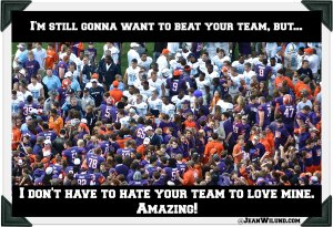 Click photo to view post: Love & Hate, Confessions of a Fanatic Fan Conformed to Christ Through Football