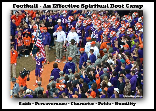 Confessions of a Fanatic Fan Conformed to Christ Through Football.