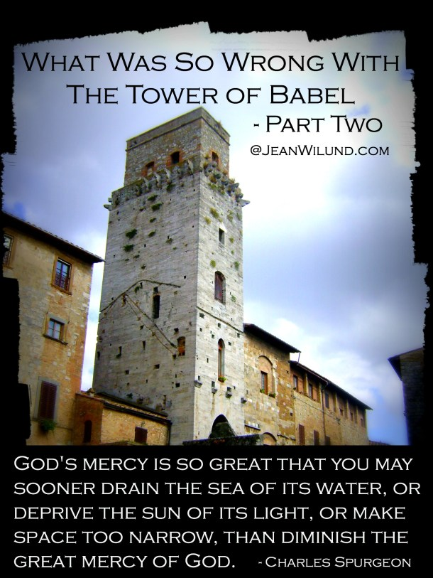 How Did God Respond to the Tower of Babel? - Mercy