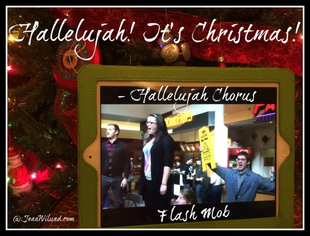 CLICK PHOTO to view music video: Hallelujah Chorus Food Court Flash Mob
