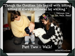 "The Starting Point for How Christians Are To Walk (Lessons from Watchman Nee's Classic ""Sit, Walk, Stand"") Part 2 ~ WALK"