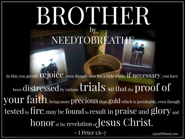 """What Dylann Roof Meant for Evil, God Allowed for Good ~ """"Brother"""" by Needtobreathe (Monday Music)"""