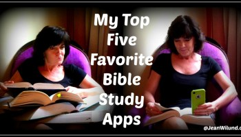 my top five favorite bible study apps