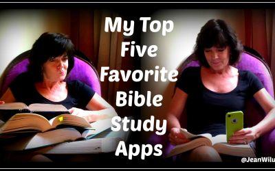 My Top Five Favorite Bible Study Apps