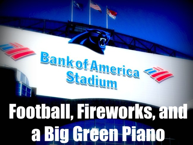 Click to read how God works in unexpected way, even Football, Fireworks and a Big Green Piano (by Leigh Ann Thomas via www.jeanwilund.com)