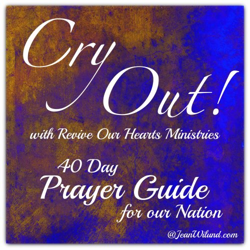 Cry Out 40 Day Prayer Guide