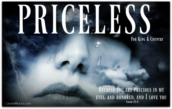 Music Video Priceless by For King & Country via www.JeanWilund.com