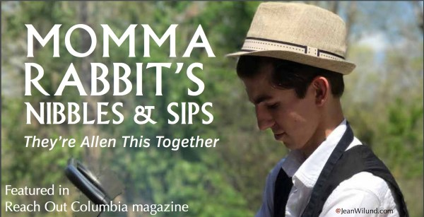 Check out Momma Rabbit's Nibbles & Sips Restaurant in Reach Out Columbia magazine. They're Allen This Together! (via www.JeanWilund.com)