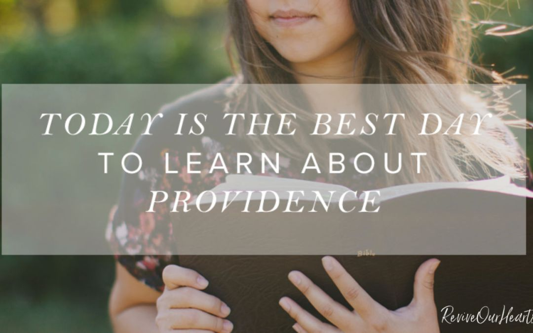 Today Is the Best Day to Learn About Providence