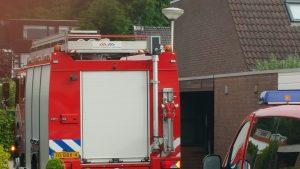 Brandweer aanwezig in de Bekermos
