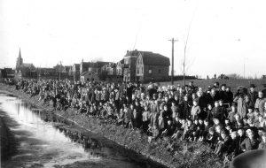 aankomst Sinterklaas 1954