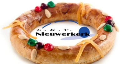 Online kerstkransenverkoop CKV Nieuwerkerk