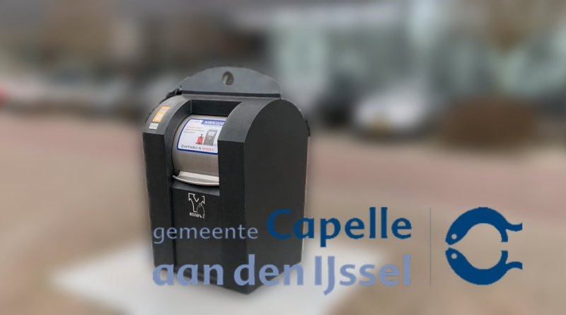 Capelle gaat afvaltoerisme te lijf: restafvalcontainers afgesloten