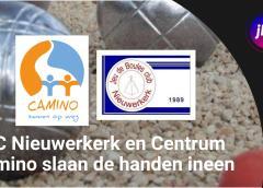 JBC Nieuwerkerk en Centrum Camino slaan de handen ineen