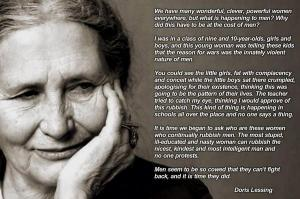 Doris Lessing, on Men