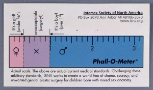 Phall-o-meter, Intersex Society of North America