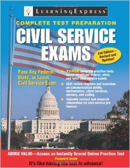 Civil Service Exams prep book