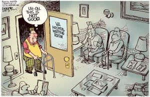 VA Waiting - Rick McKee - The Augusta Chronicle