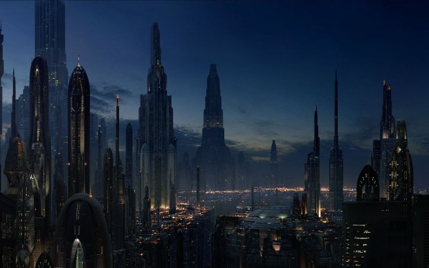 Futuristic City - Coruscant