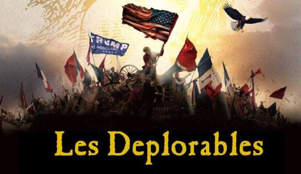 Les Deplorables -- via Christopher Buckley, source unknown
