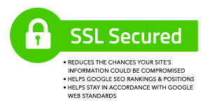 SSL Secured ad from Maine Hosting