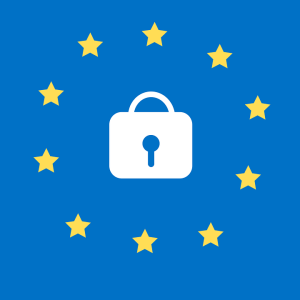 GDPR logo from Pixabay