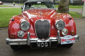 Jaguar XK150 at Greenwich Naval College