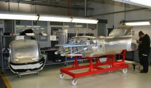 Lightweight E bodyshell Factory Visit